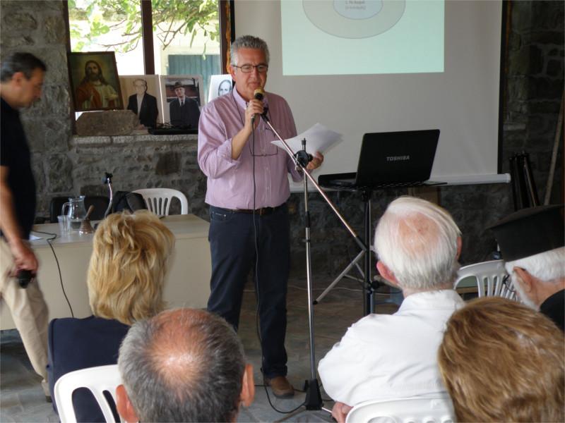Καστανιά - Πρόεδρος συλλόγου