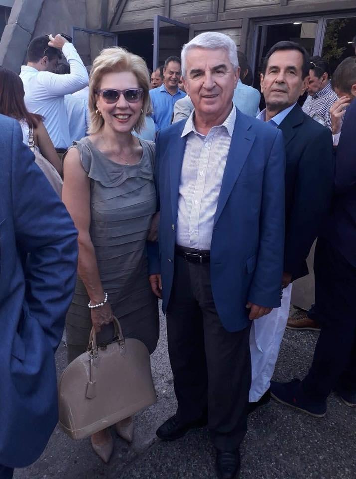 ΔΕΘ 2018 Με τον Ευρυτάνα Βουλευτή Αττικής κ. Θανάση Μπούρα