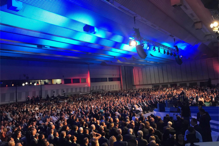 Ομιλία του Προέδρου Κυριάκου Μητσοτάκη στο κατάμεστο Βελλίδειο 2