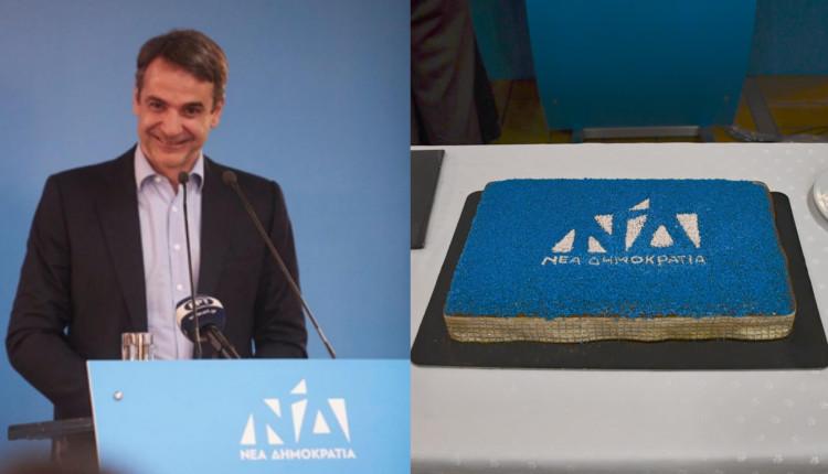 Επίσκεψη του προέδρου της ΝΔ στο Καρπενήσι στην κοπή της πίτας ΝΟΔΕ Ευρυτανίας