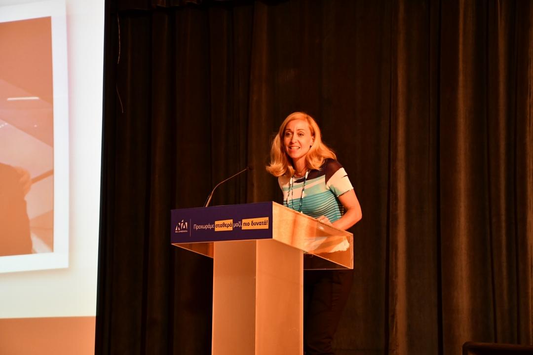 Η φίλη δημοσιογράφος κα Γκρέτα Λυμπεροπούλου 1208