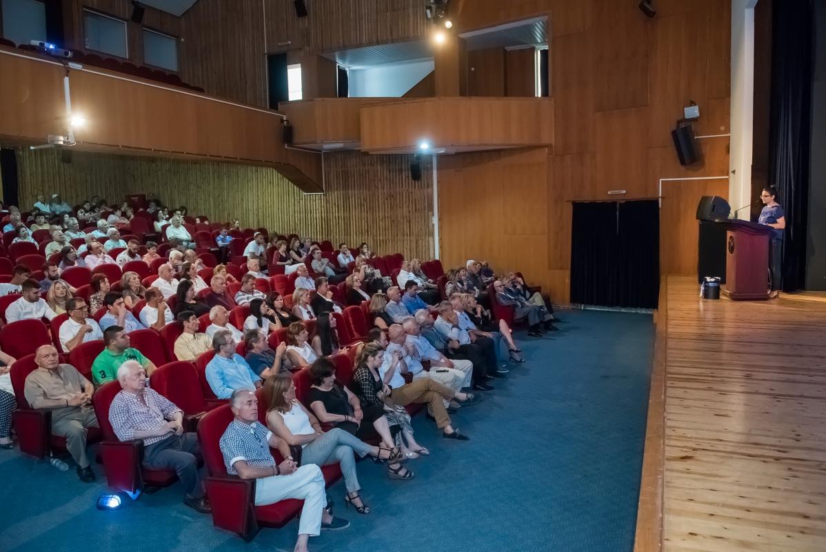 Η φίλη δημοσιογράφος Έλενα Κανέλλου συντόνισε την εκδήλωση
