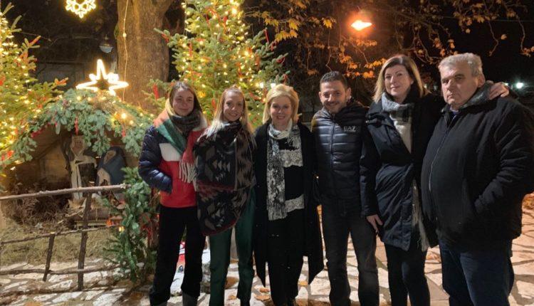 Ανάψαμε το Χριστουγεννιάτικο δέντρο στο πανέμορφο Κρίκελλο Ευρυτανίας
