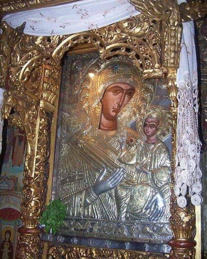 Στον Εσπερινό της Ι Μ Προυσού παραμονή της μεγάλης εορτής της Παναγίας της Προυσιώτισσας 1