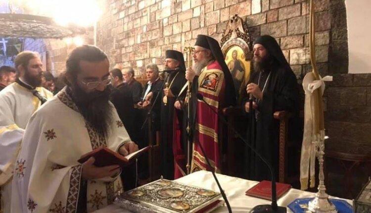 Στον Εσπερινό της Ι Μ Προυσού παραμονή της μεγάλης εορτής της Παναγίας της Προυσιώτισσας