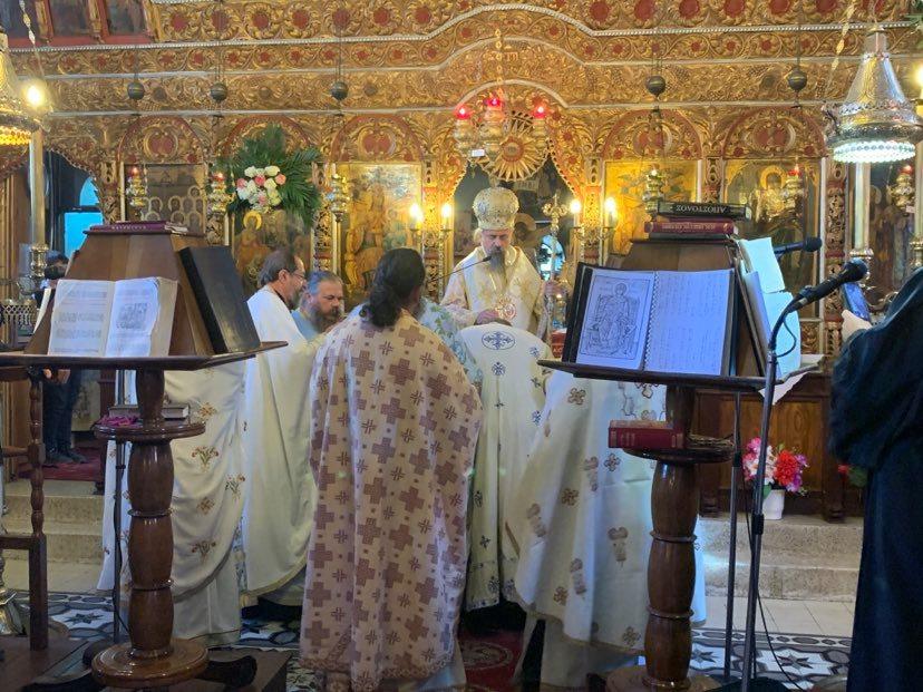 Στην πανηγυρική Θεία Λειτουργία της 8-9 στον ΙΝ Γεννήσεως της Θεοτόκου στη Δυτική Φραγκίστα - Χειροτονία του Πατρός Χρήστου 1
