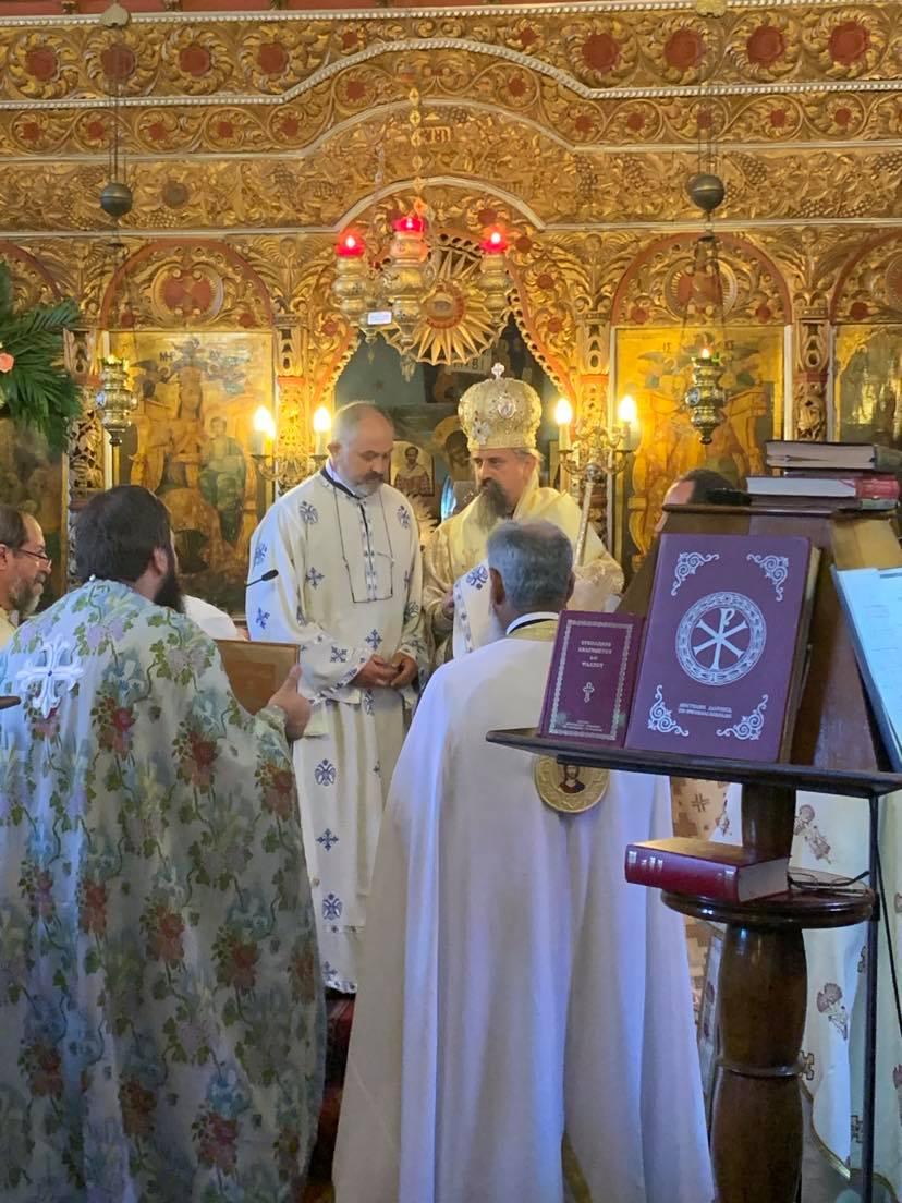 Στην πανηγυρική Θεία Λειτουργία της 8-9 στον ΙΝ Γεννήσεως της Θεοτόκου στη Δυτική Φραγκίστα - Χειροτονία του Πατρός Χρήστου 2
