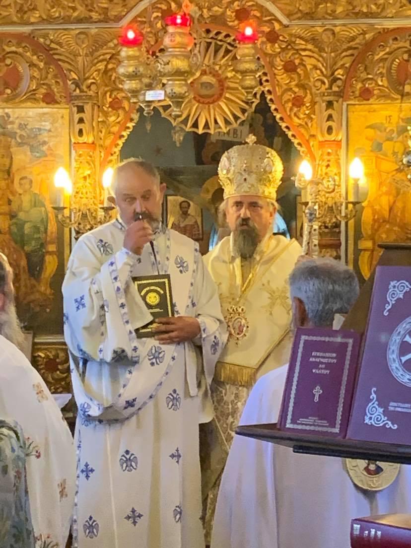Στην πανηγυρική Θεία Λειτουργία της 8-9 στον ΙΝ Γεννήσεως της Θεοτόκου στη Δυτική Φραγκίστα - Χειροτονία του Πατρός Χρήστου 4