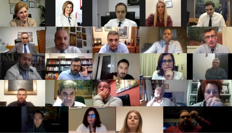 Διαδικτυακή εκδήλωση του Μητρώου Στελεχών της Νέας Δημοκρατίας για τον κορωνοιό - Θωμαΐς Οικονόμου