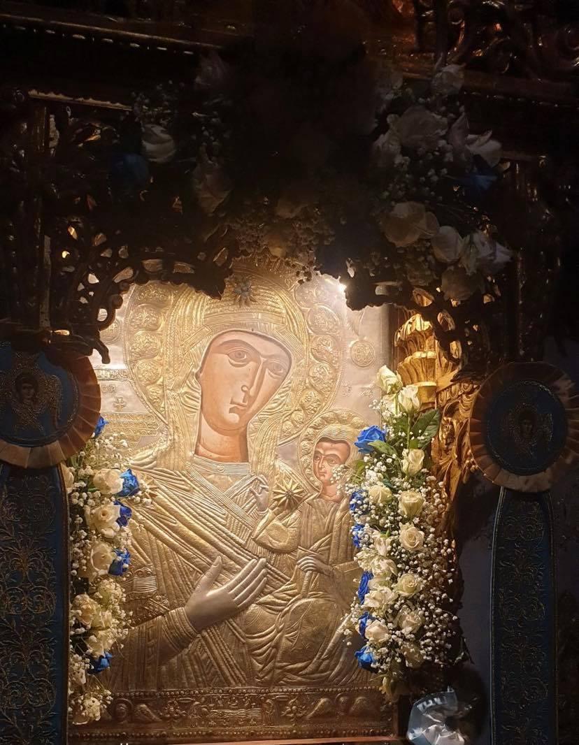 Στο Μοναστήρι της Παναγίας της Προυσιώτισσας παραμονή της μεγάλης γιορτής της Παναγίας 02